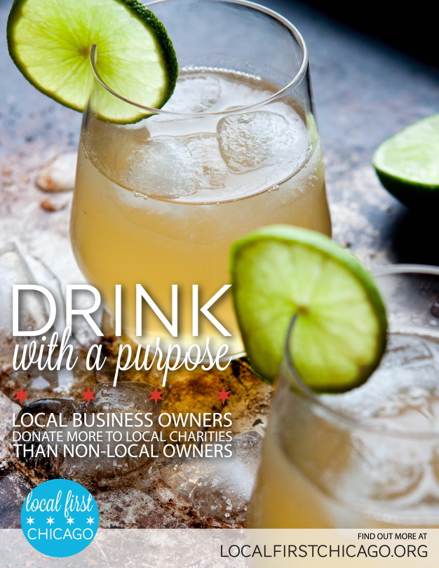 Local First Chicago - Drink Ad