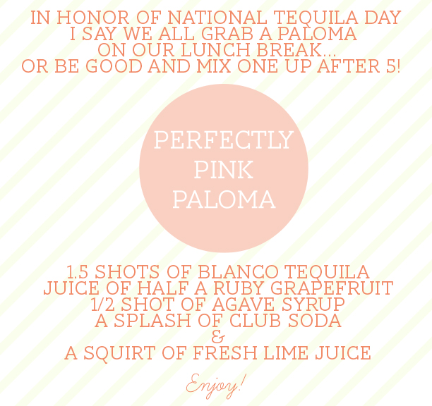 lets mix up a Paloma